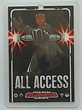 Star Wars Celebration Europe show pass 2007 All Access