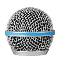 Microphone Grille Metal Steel Windscreen fits Beta 58A/57A/87A Shield Filter Mic