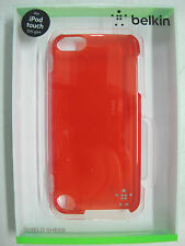 FREE! Just Pay Freight BELKIN Red Shield Sheer Case for IPod 5th gen F8W144qeC04