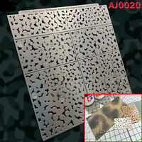 DIY Camouflage Leakage Spray Board Stenciling Template for Gundam Military Model