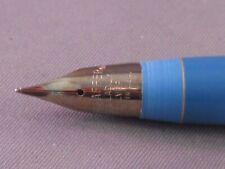 Sheaffer Vintage Blue Palladium Silver fine point section and nib