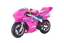 FREE SHIPPING KIDS 40CC 4 STROKE MINI BIKE GAS MOTOR SUPERBIKE PINK V DB40A