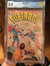 Superboy #68 CGC 2.5 OW KEY ~ **First Appearance of Bizarro** ~ HOT BOOK!!