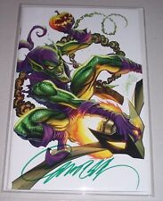 "Amazing Spider-Man #800! ""E"" Virgin Variant! Signed-J. Scott Campbell! NM! COA!"