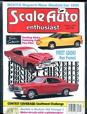 Scale Auto Enthusiast Magazine February 1991 Tool School EX No ML 122316jhe
