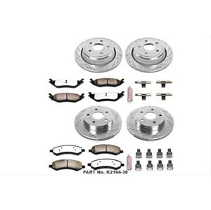 Powerstop K2164-36-Z36 Truck And Tow Brake Pads & Rotor Kit-Front & Rear