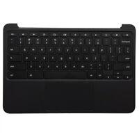 For HP Chromebook 11 G5 EE Laptop Palmrest Keyboard & Touchpad 917442-001 Black