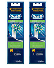 Oral-B Cross Action Electric Toothbrush Replacement Head - 4 Refill Brushes