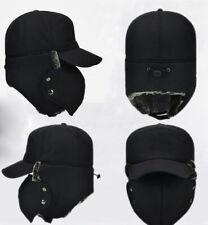 Men Women Winter Bomber Hat Trooper Ear Flap Snow Ski Mask Hood Cap Keep Warm