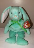Ty Beanie Baby - HIPPITY the Green Bunny Rabbit (8.5 Inch) MINT with MINT TAGS