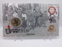 2018 $1 Coin UNC End of WWI 100th Anniversary P mintmark ANDA random of 500 RARE