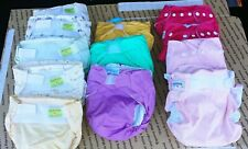 New ListingLot of 12 Reusable Washable Cloth diapers w/inserts used a couple one time Euc