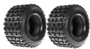 18x10x8 BLASTER 200 TERACHE ATV QUAD REAR TYRE YAMAHA PAIR FORCE MX ROAD E MARK