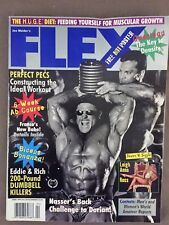 Flex Bodybuilding Magazine April 1996 RICH GASPARIEDDIE ROBINSON