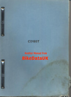 Honda CD185T Benly (1978 >>) Genuine Factory Shop Manual Book CD 185 T Twin CW50