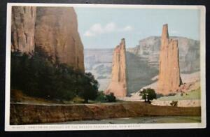 Postcard Canyon de Chelley on the Navaho Reservation New Mexico Fred Harvey