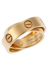 Cartier Ringe aus Edelmetall ohne Steine