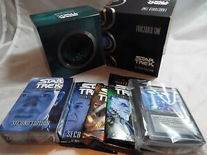 STAR TREK CCG 2E FRACTURED TIME COMPLETE OPEN BOX