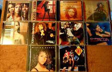Lot of 10 Assorted R&B CDs - Destiny's Child  Mariah Carey  Pru  Alicia Keys +