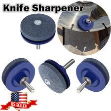Sharpener for Garden Lawn Mower / Power Drill / Hand Drill Universal Blade US AN