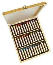 Sennelier Pastel à l'huile Boîte en bois Set - 36 assortis
