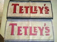 Tetley/'s Bitter Beer Blue Rugby Bar Towel Pub Home Bar Man Cave New Unused