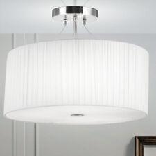 Design Hänge Lampe Schlaf Wohn Zimmer Beleuchtung Textil Decken Big Light