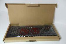 Lenovo 00XH688 Black USB Keyboard Wired Standard 104-Keys 5V~100mA KBBH21 NEW