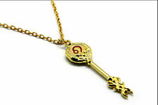 Hot Anime Fairy Tail Cosplay Accessory Matel Key of Leo Pendant Necklace