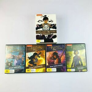 The Legend Of Korra The Complete Series DVD Boxed Set