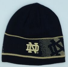 76f4f88218bff NCAA Notre Dame Fighting Irish Adidas Reversible Winter Knit Hat Cap Beanie  NEW!