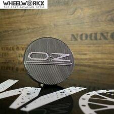 4xOriginal OZ Emblem Felgendeckel Center Caps classic grey 55 mm 81310469 NEU!!!