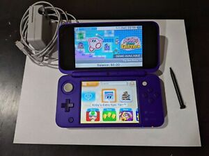 New Nintendo 2DS XL Purple and Silver