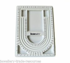 "The Beadsmith Beaders 8.5"" x 12"" Bead Board Tray for Jewellery Making"