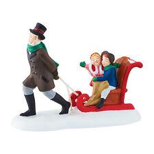 Dv Sledding at the Fair Dickens Village Accessory Dept 56 2015 New 4044788 D56