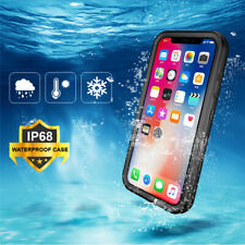 iPhone 11 Pro Max XS XR 8 7 6s 6 Plus Waterproof Shockproof 360 Protective Case