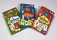 Dr. Seuss Flash Card Kids Learning Lot ABC's Words Colors Shapes Numbers
