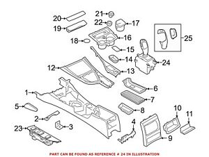 For BMW Genuine Automatic Transmission Shift Lever 61319296898
