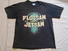 Flotsam and Jetsam t-shirt when the storm comes down Large Hanes Vintage used