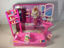 Rare 1994 Barbie Bathroom Playset Set & Accessories Mattel - VGC BOXED - L@@K!!!