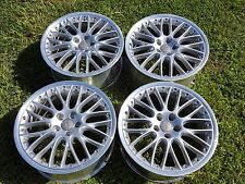 "19"" BBS RS861 RARE Audi A6 Speedline 5x112 APR Wheels Rims 2pc"