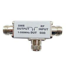 1-500MHz SWR Reflection VSWR bridge bridge RF Directional Bridge
