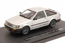 Toyota corolla levin 1600 gtv 1983 silver 1:43 auto stradali scala ebbro