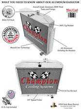 2 Row Performance Champion Radiator for 1955 1956 1957 Chevrolet Cars