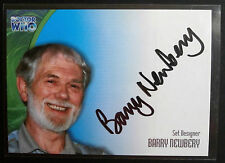 DOCTOR WHO - VERY LIMITED Barry Newbery Autograph Card - Strictly Ink 2002