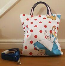 BNWT Cath Kidston Disney Alice in Wonderland Reversible Cross Body Bag SOLD OUT