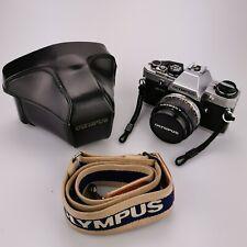 Olympus OM10 50mm SLR Camera F/1:1.8 Auto Focus & Case Strap Photography 348409