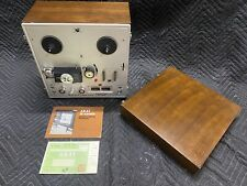 Akai X-150D Reel-to-Reel Tape Deck Player Recorder Crossfield Heads WORKS 1967