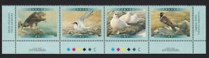 GOLDEN EAGLE, ARCTIC TERN = BIRDS = Canada 2000 #1889a MNH STRIP Block of 4 w/ID