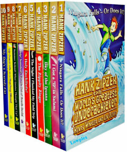 Hank Zipzer the World's Greatest Underachiever 10 Books Set Collection Gift Pack